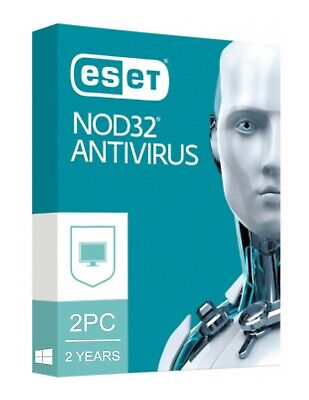 Eset NOD32 Antivirus 2020 V13 / 2 PC 2 YEARS / EMAIL DELIVERY (ACTIVATION CODE)