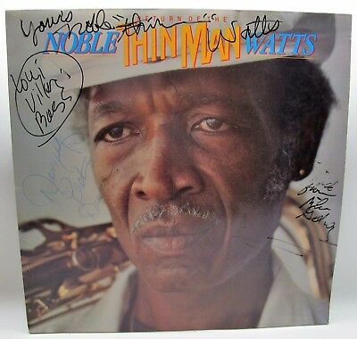 AUTOGRAPHED Noble Watts Return Of The Thin Man King Snake 003-TAJ MAHAL JAZZ EUC