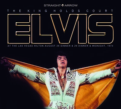 ELVIS PRESLEY - THE KING HOLDS COURT  -  Straight Arrow Label