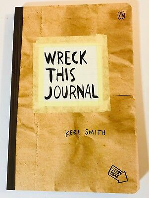 Wreck This Journal (Paper bag) Expanded Ed. Diary Keri Smith 2012 Paperback
