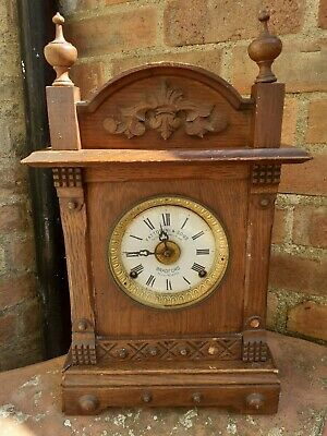 Antique Mantle Carriage Clock Pre 1900s
