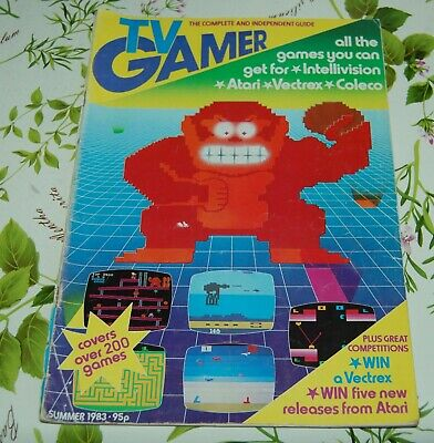 Rivista videogiochi - TV GAMER - SUMMER 1983 - NUMERO 1 - Lingua inglese - UK