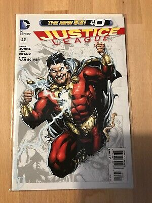 DC Comics The New 52 Justice League Shazam #0 Great Condition First Prints