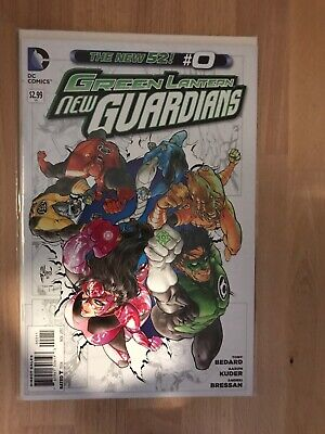 DC Comics The New 52 Green Lantern New Guardians #0 Great Condition