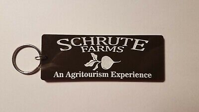 Schrute Farms the office inspired keychain key chain