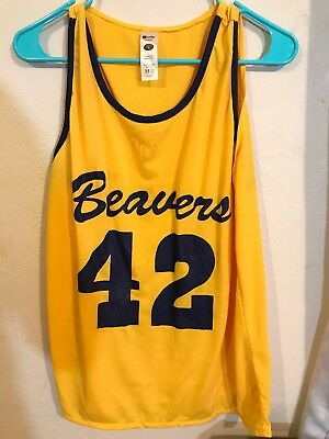 e2a3a12b9480 BEAVERS BASKETBALL TEEN WOLF Back To The Future BTTF T-Shirt SIZES S ...