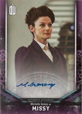 2018 Topps Doctor Who Signature Michelle Gomez as Missy Autograph