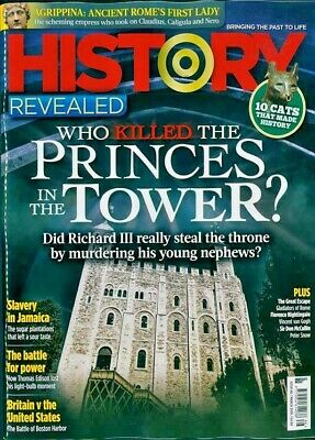 History Revealed Magazine #66 March 2019 Slavery In Jamaica ~ Rome's First Lady