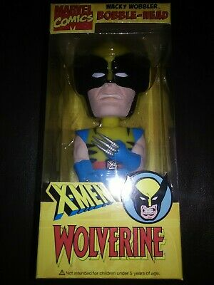 Funko 2008 Comic Con Exclusive Marvel X-Men Wolverine Bobblehead figure *NEW*