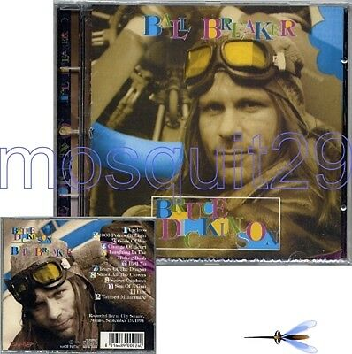 """Bruce Dickinson Iron Maiden """"Ball Breaker"""" Rare Cd Live Made In Italy - Sealed"""