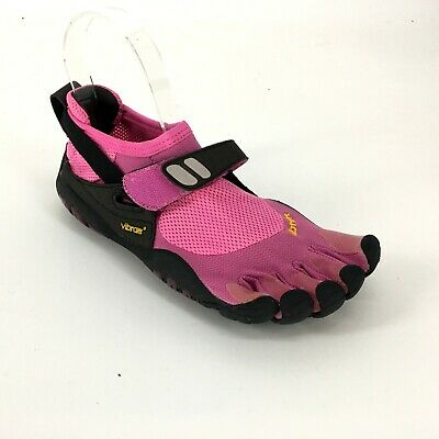the best attitude 71f1a 007ad ... Vibram FiveFingers Womens Shoes Barefoot Running Treksport Pink Size 37  US 7 7.5 8