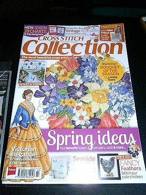 Cross Stitch Collection Magazine March 2014 Issue 233  (new)