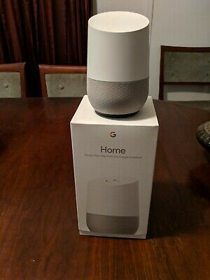 Google Home AU Smart Assistant White Slate used but as new
