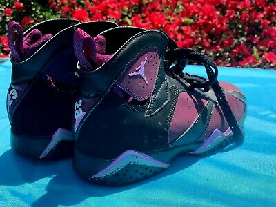 a817954abd8 NIKE AIR JORDAN 7 RETRO MULBERRY & PINK 442961-009 Shoes SIZE 1 Youth ❤
