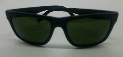 41f057283e03b ELECTRIC SWINGARM XL SUNGLASSES Matte Black Frame GREEN Lenses Polarized  used