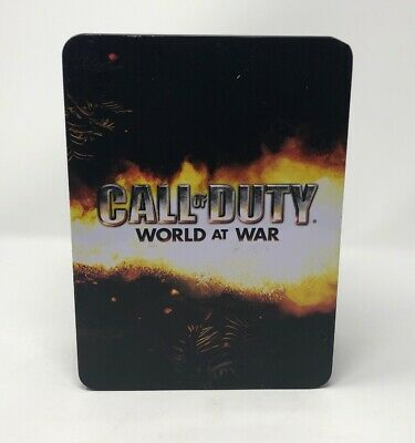 Call Of Duty: World At War Limited Edition Collector's Tin & Flask