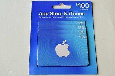 $100 App Store  iTunes Gift Cards Multipack Free Shipping Lowest Price Guarantee