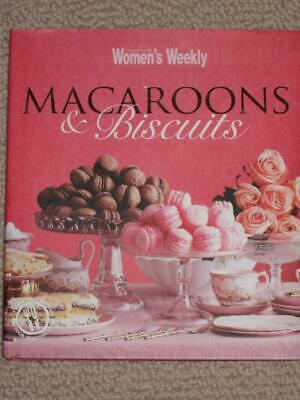 Macaroons & Biscuits Cookbook by Australian Women's Weekly HARD BACK DC Recipes