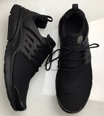 new product bc3e7 17d1d Nike Air Presto Essential Triple Black Running Shoes Mens Sneakers Size 13