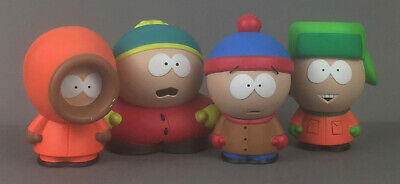 South Park Mirage Toys Series 1 Cartman, Stan, Kyle and Kenny 4-pack Used