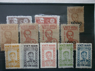 Lot 12  Timbre Indochine Ho Chi Minh  Stamp Tres Tres Rare