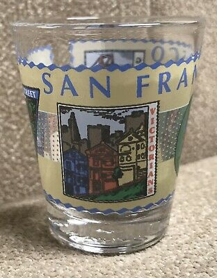 San Francisco Vintage Shot Glass Souvenir