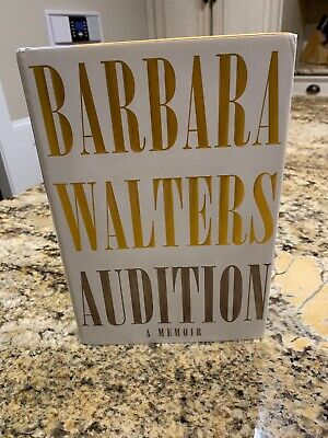 """BARBARA WALTERS - """"Audition: A Memoir"""" (Book) - SIGNED W/provenance"""