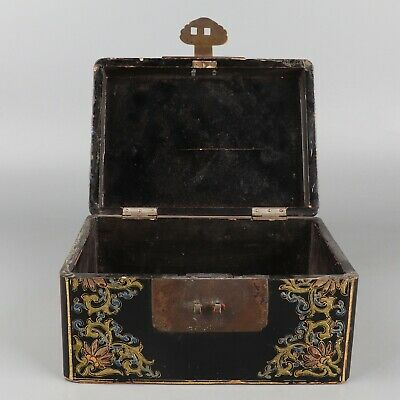 Chinese Exquisite Handmade children lacquerware box
