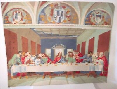 Vintage Jesus Biblical Last Supper Christian Paint by Numbers Picture