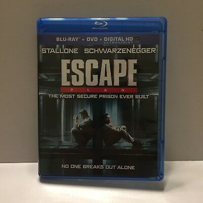 Escape Plan with Stallone/Arnold Blu-Ray No DVD or Digital Download Included