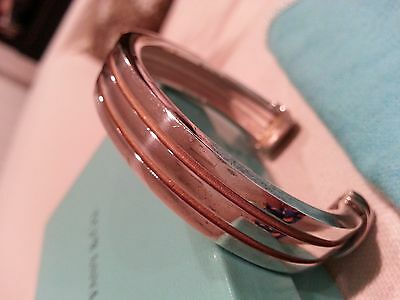 Tiffany and Co. sterling silver bangle bracelet