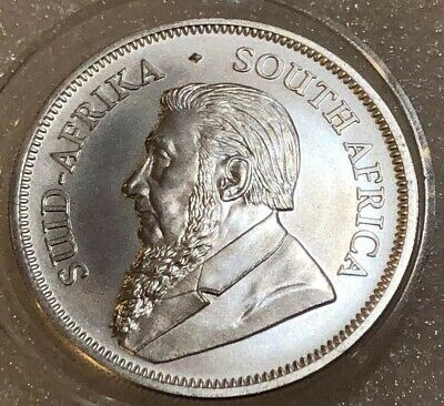 2018 KRUGERRAND SOUTH AFRICA  1 oz .999 SILVER BULLION COIN, BU