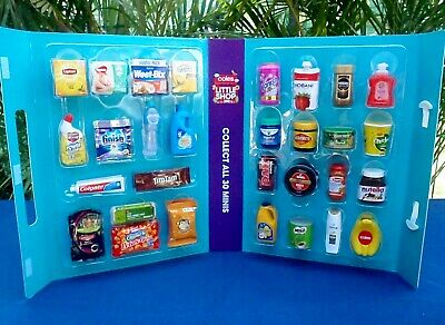 Coles Little Shop Mini Collectables - Sold Separately - New - $3 to $7
