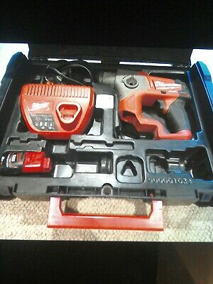 Milwaukee 12V SDS Fuel Hammer Drill & Charger, Battery & Case