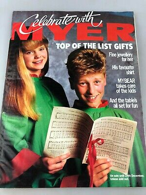 Vintage Myer Catalogue - Possibly Late 1980's - Christmas - Estee Lauder +++