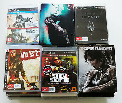 (Fully Tested) PlayStation 3 PS3 Games, Bulk Lot, Please Choose