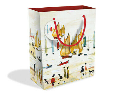 Penguin Design Medium Luxury Gift Bag with Gift Tag V/&A Collection