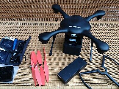 A black EHANG Ghost Drone 2.0 (Faulty battery) – 4K camera