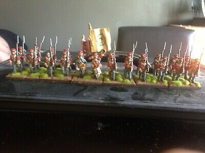24 X 28mm Warlord Games Hanoverian  Infantry Metal + Plastic