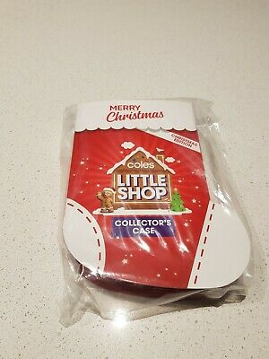 Coles Little Shop Mini Collectables - Christmas Edition | Full Set of 5 & Case