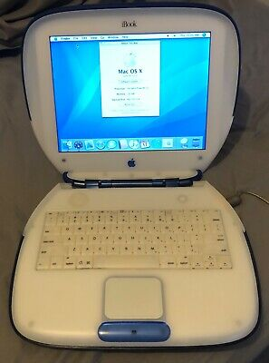 Apple iBook G3 (excellent condition)