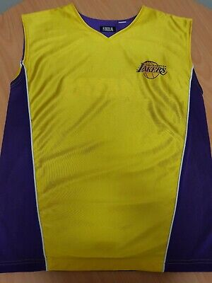 Nba Jersey Los Angeles Lakers (Reversible) Size L