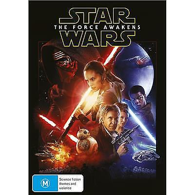 Star Wars The Force Awakens DVD 2018 M / Free Priority Postage