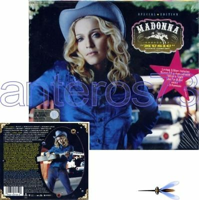 "Madonna ""Music"" Rare 2 Cd Limited Edition + Remixes - Sealed"