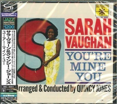 Sarah Vaughan-Youre Mine You-Japan Shm-Cd C15
