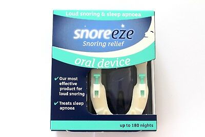 Snoreeze Snoring Relief Oral Device - Up To 180 Nights