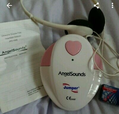Angel Sounds Fetal Doppler heart detector