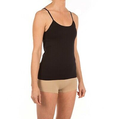 Stretchy Strappy Wicking Microfibre Vest Top Cami Camisole Breathable Seamless T