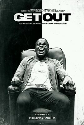 169469 2017 GET OUT Horror Film Daniel Kaluuya Movie Decor Wall Poster Print UK
