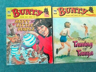 Bunty picture story library for girls 1979